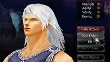 Character creation in MU Online