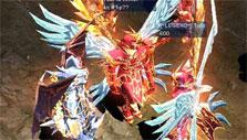 Hanging out with friends in town in MU Online