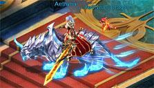 Mount and dragon pet in Dragons Awaken