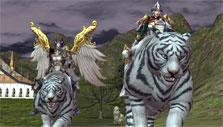 Rappelz: The Expedition: White tiger mount