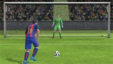 Goal kick in FIFA Mobile Soccer