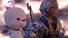 Adorable pet in Mobius Final Fantasy