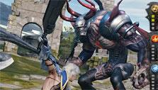 Combo attacks in Mobius Final Fantasy