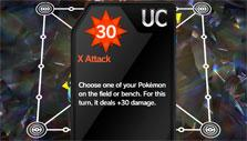 Pokemon Duel: Playing a card