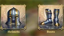 Heroes at War: Crafting hero equipment