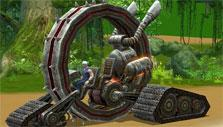 Terror Wheel mount in Battle of Immortals