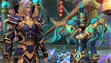 Battle of Immortals: Amazingly detailed armor designs