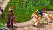A colorful pet in Battle of Immortals