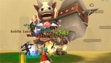 Farming Goblin Leader elite in Ragnarok Online 2
