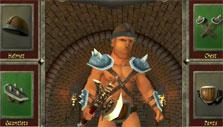 Equipping my warrior in Warriors: Rise to Glory