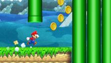 Super Mario Run: Collect coins