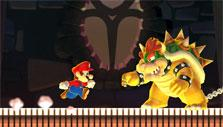 Beat bowser in Super Mario Run