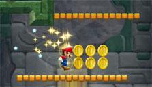 Gameplay in Super Mario Run
