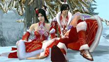 Jade Dynasty: Christmas fashion