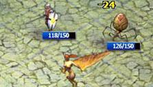 Battle in Call of Gods