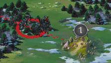 Capturing resource point in Throne: Kingdom at War