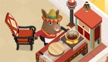Preparing Mexican food in Dining Zoo