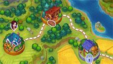 Dakota Farm Adventures: The adventure map