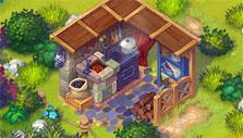 Dakota Farm Adventures: Crafting foodstuff at the kitchen