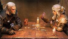 Ciri and Geralt in Gwent