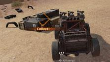 Capturing cargo in cargo race in Crossout
