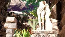 Downward: Statue