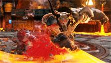 Boss fight in Skara: The Blade Remains