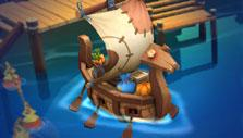 Transport cargo in Island Story
