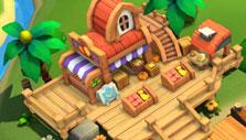 Island Story: Trading post