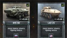 Troop collection in Warfare Online