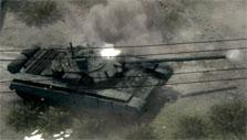 Tank gameplay in Warfare Online
