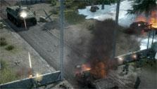 Infantry taking on a tank in Warfare Online