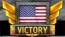 Victory screen in Warfare Online