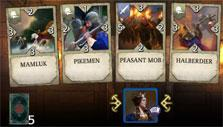 Knightfall Rivals: Cards in hand