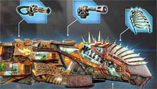 Sandstorm: Pirate Wars: Customize your ship