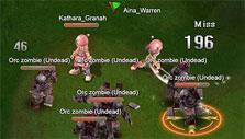 Dungeon party in Ragnarok Journey
