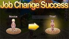 Job changed in Ragnarok Journey