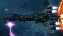 Cool spaceship in Empire Universe II