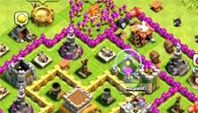 Completed Village in Clash of Clans