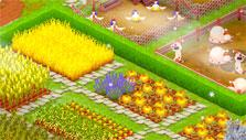 Crops in Golden Acres