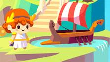 Boat in Greedy Gods: Islands & Treasures