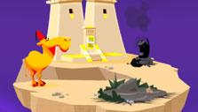 Damaged Island in Greedy Gods: Islands & Treasures