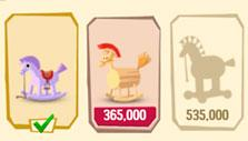 Upgrading in Greedy Gods: Islands & Treasures