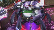 Boss battle in War of the Immortals