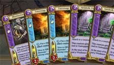 Spellweaver: Cards on hand