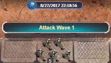 Attack wave in C&C: Tiberium Alliances