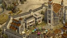 An advanced empire in Castle Fight – Crusader's Glory