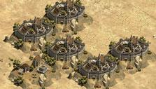 World map in Castle Fight – Crusader's Glory