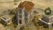 Starter city in Castle Fight – Crusader's Glory