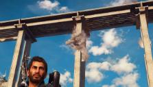 Destroying a bridge in Just Cause 3